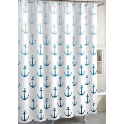 CHF Ombre Anchor Shower Curtain