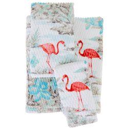 CHF Destinations Hawaiian Shirt Print Bath Towel Collection