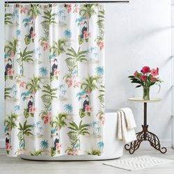 Destinations Toucan Shower Curtain