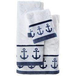Kingsley Anchors Away Border Bath Towel Collection