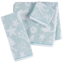 Christy Mermaid Jacquard Towel Collection