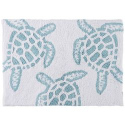 Christy Sea Turtle Bath Rug