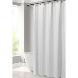 Excell Home Bubble Embossed Fabic Shower Curtain Liner