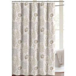 CHD Home Textiles Ashbury Park Shower Curtain With Hooks