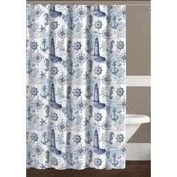 CHD Home Textiles Oceanside Shower Curtain