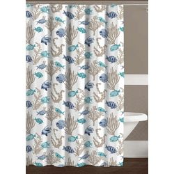 CHD Home Textiles Royal Palm Shower Curtain