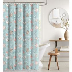 CHD Home Textiles Barbados Shower Curtain With Hooks