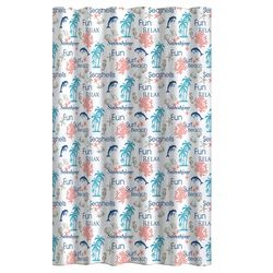 CHD Home Textiles Surfside Shower Curtain With Hooks
