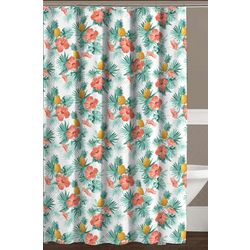 CHD Home Textiles Fiji Shower Curtain With Hooks