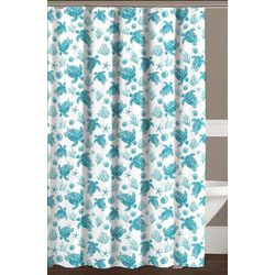CHD Home Textiles Avalon Shower Curtain With Hooks