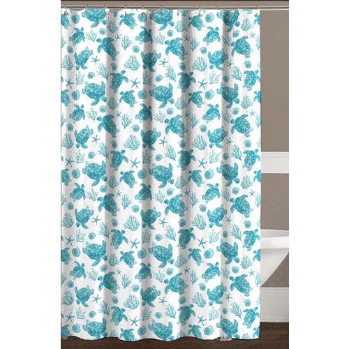 CHD Home Textiles Avalon Shower Curtain With Hooks