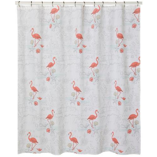 Coastal Home Mapingo Flamingo Shower Curtain