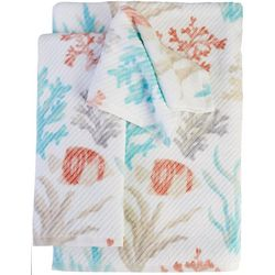 Coastal Home Kombu Print Bath Towel Collection