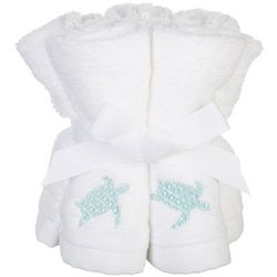Coastal Home 5-pk. Embroidered Turtle Wash Cloth Set