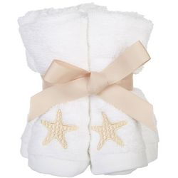 Coastal Home 5-pk. Stars At Sea Embroidered Wash Cloth Set