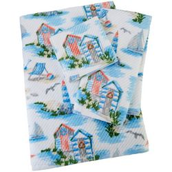 Coastal Home Seashore Serenade Print Towel Collection