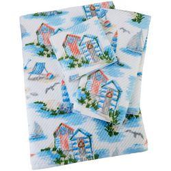 Coastal Home Seashore Serenade Print Towel Collection