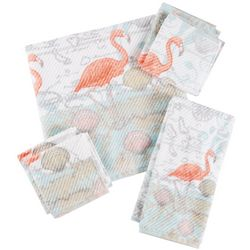 Coastal Home Mapingo Flamingo Bath Towel Collection