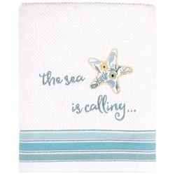 Saturday Knight Seaside Blossoms Bath Towel Collection