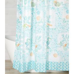 Saturday Knight South Seas Shower Curtain