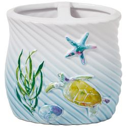 Saturday Knight Watercolor Ocean Toothbrush Holder