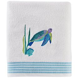 Saturday Knight Watercolor Ocean Bath Towel Collection