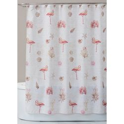 Saturday Knight Coral Gables Shower Curtain