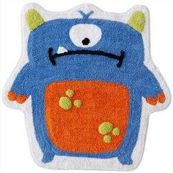 Saturday Knight Monster Tufted Bath Rug
