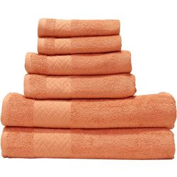 Spunloft 6-pc. Solid Cotton Towel Set