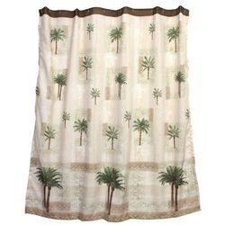 Bacova Citrus Palm Shower Curtain