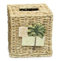 Bacova Citrus Palm Tissue Box