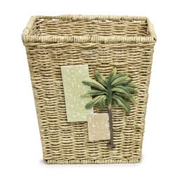 Bacova Citrus Palm Wastebasket