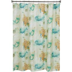 Bacova Sea Splash Shower Curtain