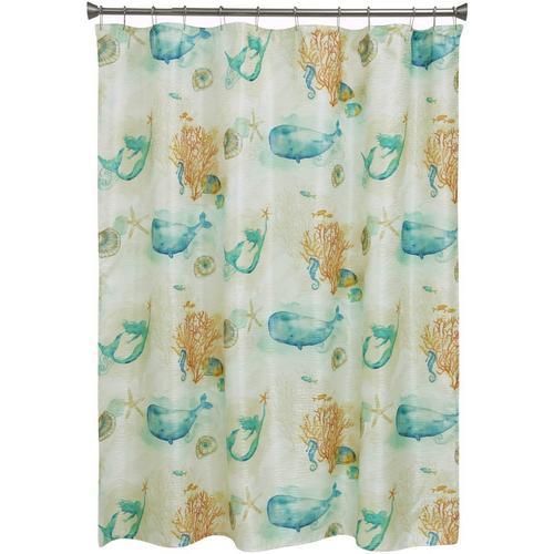 Bacova Sea Splash Shower Curtain