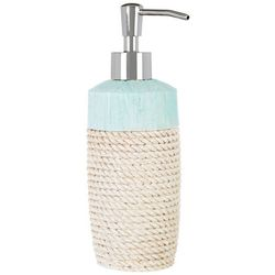 Bacova Coastal Patch Aqua Lotion Dispenser