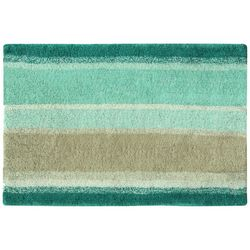 Bacova Coastal Ombre Stripe Bath Rug