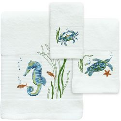 Bacova Sea Life Serenade Bath Towel Collection