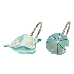 Bacova 12-pc. La Mer Collection Shower Hooks