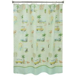 Bacova Shore Thing Shower Curtain