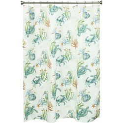 Bacova Sea Life Serenade Shower Curtain