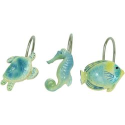 Bacova Sea Life Serenade Shower Curtain Hooks