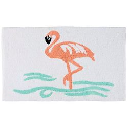 Panama Jack Signature Collection Flamingo Bath Mat