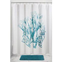 Interdesign Coral Shower Curtain