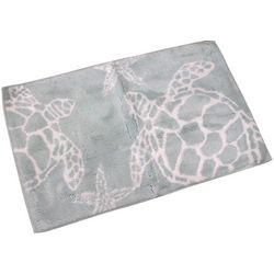 Cosmic Sea Turtle Bath Rug