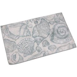 Cosmic Shell Collage Bath Rug