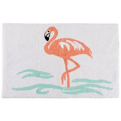 Coastal Home Flamingo Bath Rug