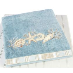 Avanti Seashells Bath Towel