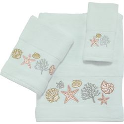 Coastal Bay Harbor Bath Towel Collection