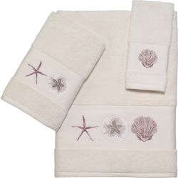 Coastal Paradise Shell Towel Collection