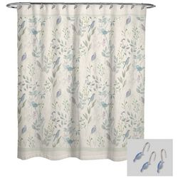 Avanti Sweet Song Shower Curtain & Hook Set